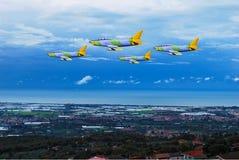 Aircraft reconnaissance Stock Photo