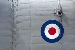 Aircraft rivets Royalty Free Stock Image