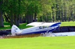 Aircraft seaplane Royalty Free Stock Photos