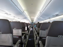 Aircraft seats Royalty Free Stock Photo