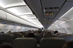 Aircraft seats Royalty Free Stock Image