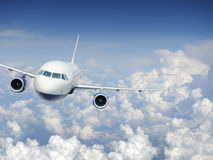 Aircraft in the sky Royalty Free Stock Images