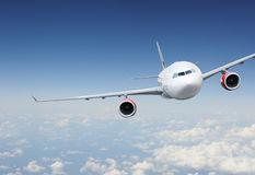 Aircraft in the sky Royalty Free Stock Photo