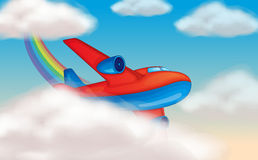 Aircraft in the sky Royalty Free Stock Image