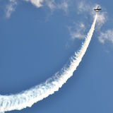 Aircraft in the sky Stock Photo