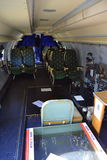 Aircraft Special Missions Interior Royalty Free Stock Photo