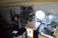 Aircraft Special Missions Interior Royalty Free Stock Photography
