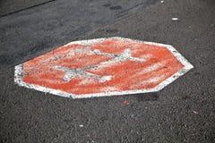 Aircraft Stop Sign Royalty Free Stock Photos