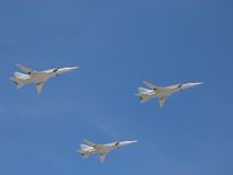 Aircraft strategic bombers Tu-22M3 Stock Photo