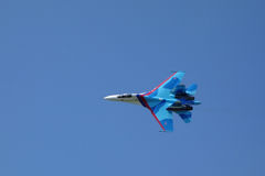 Aircraft Su-27 (Flanker) Stock Photo