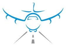 Aircraft symbol Stock Images