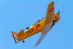 Aircraft T-6 Texan Stock Photography