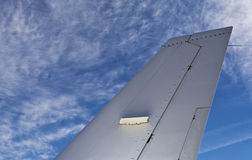 Aircraft Tailplane Stock Photos