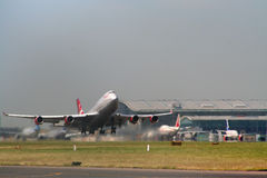 Aircraft Takeoff royalty free stock photography