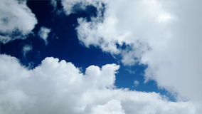 Aircraft and timelapse clouds, Alpha channel, stock footage stock video
