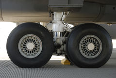 Aircraft Tires Stock Images