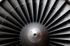 Aircraft turbine Stock Image