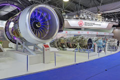 Aircraft turbojet engines Royalty Free Stock Photography