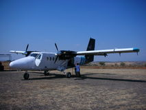 Aircraft Twin Otter. Royalty Free Stock Photos