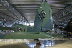 Aircraft type, heinkel he 111 Stock Image