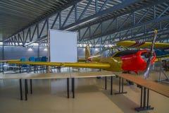 Aircraft type, saab 91b-2 safir Stock Images