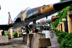 Aircraft in Vietnam Military History Museum Royalty Free Stock Photo