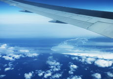 In aircraft Royalty Free Stock Image