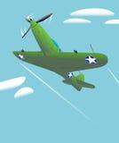 Aircraft vintage looking Stock Photo