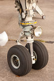 Aircraft wheel Stock Images