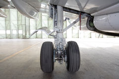 Aircraft wheel stock photography