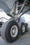 Aircraft wheel Royalty Free Stock Photography