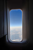 An aircraft window Royalty Free Stock Images
