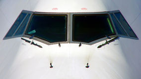Aircraft windows Stock Images
