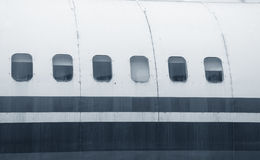 Aircraft windows Stock Image