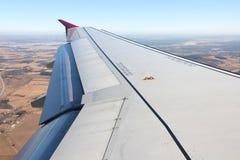 Aircraft wing Royalty Free Stock Image
