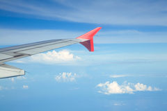 Aircraft wing Stock Photography