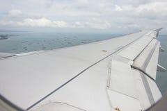 Aircraft Wing Stock Image