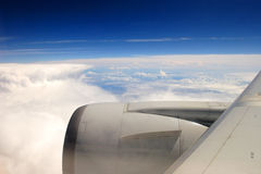 Aircraft Wing Royalty Free Stock Images