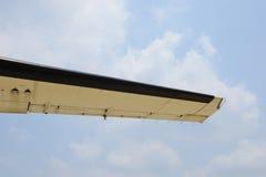 Aircraft wing Royalty Free Stock Photo
