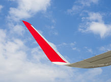 Aircraft winglet Stock Photo