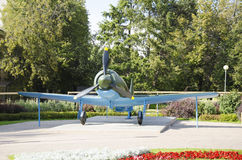 Aircraft of World War II in the Kremlin. Royalty Free Stock Photography