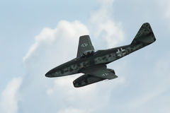 AircraftMe-262 Schwalbe royalty free stock photography
