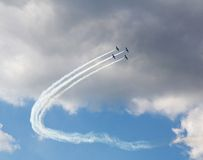 Aircrafts Royalty Free Stock Images