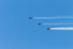 Aircrafts Acrobatics Durban Royalty Free Stock Image