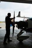 Aircraftsman Foto de Stock