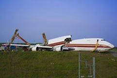 Aircrash Imagens de Stock Royalty Free