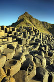 Aird Snout and the Giant's Causeway in late sun Stock Photo