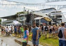 Aire abierto 2015 Munich, Alemania del festival de la pradera Imagen de archivo libre de regalías