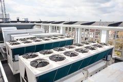 Aire acondicionado de enfriamiento Foto de archivo