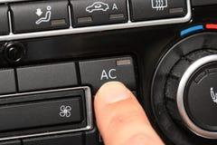Aire acondicionado del coche Fotos de archivo libres de regalías